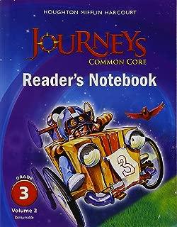 Houghton Mifflin Harcourt Journeys: Common Core Reader's Notebook Consumable Volume 2 Grade 3;Houghton Mifflin Harcourt Journeys