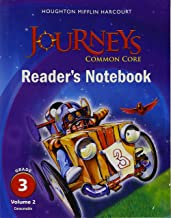 Houghton Mifflin Harcourt Journeys: Common Core Reader's Notebook Consumable Volume 2 Grade 3;Houghton Mifflin Harcourt Journeys
