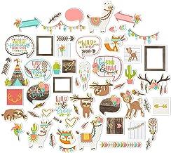Paper Die Cuts - Be Brave - Over 60 Cardstock Scrapbook Die Cuts - by Miss Kate Cuttables