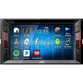 JVC KWV140BT Double Din BT in-Dash DVD/CD/Am/FM Car Stereo W/6.2 Touchscreen