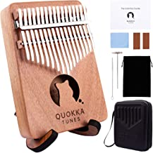Kalimba 17 Key Thumb Piano - QT Sensory Therapy Finger Piano Mbira Unique Gifts Cool Musical Instruments Portable Interest...