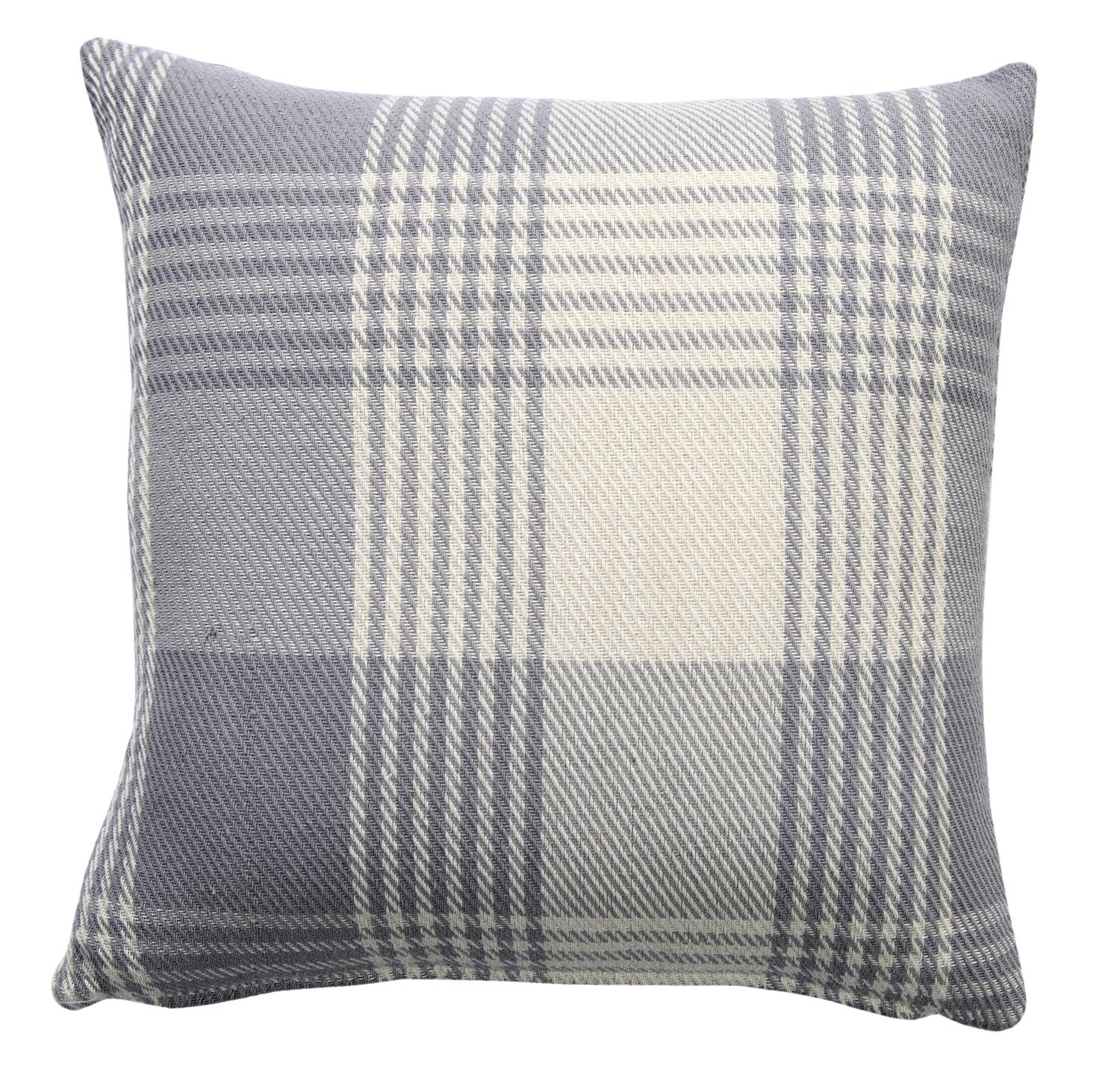 Betty Black Oxford Homeware Jacquard Cushions with Invisible Zipper Square Decoration Throw Pillow Cases Cushion Covers for Sofa matching with Curtains and bedding 18 x 18 Inch