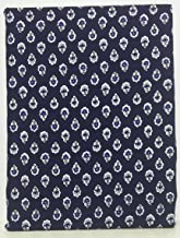 掛布団カバー シングル 150×210cm FABRIC'Sファブリックス 日本製 コットン100% 北欧 南仏 プロバンス紺