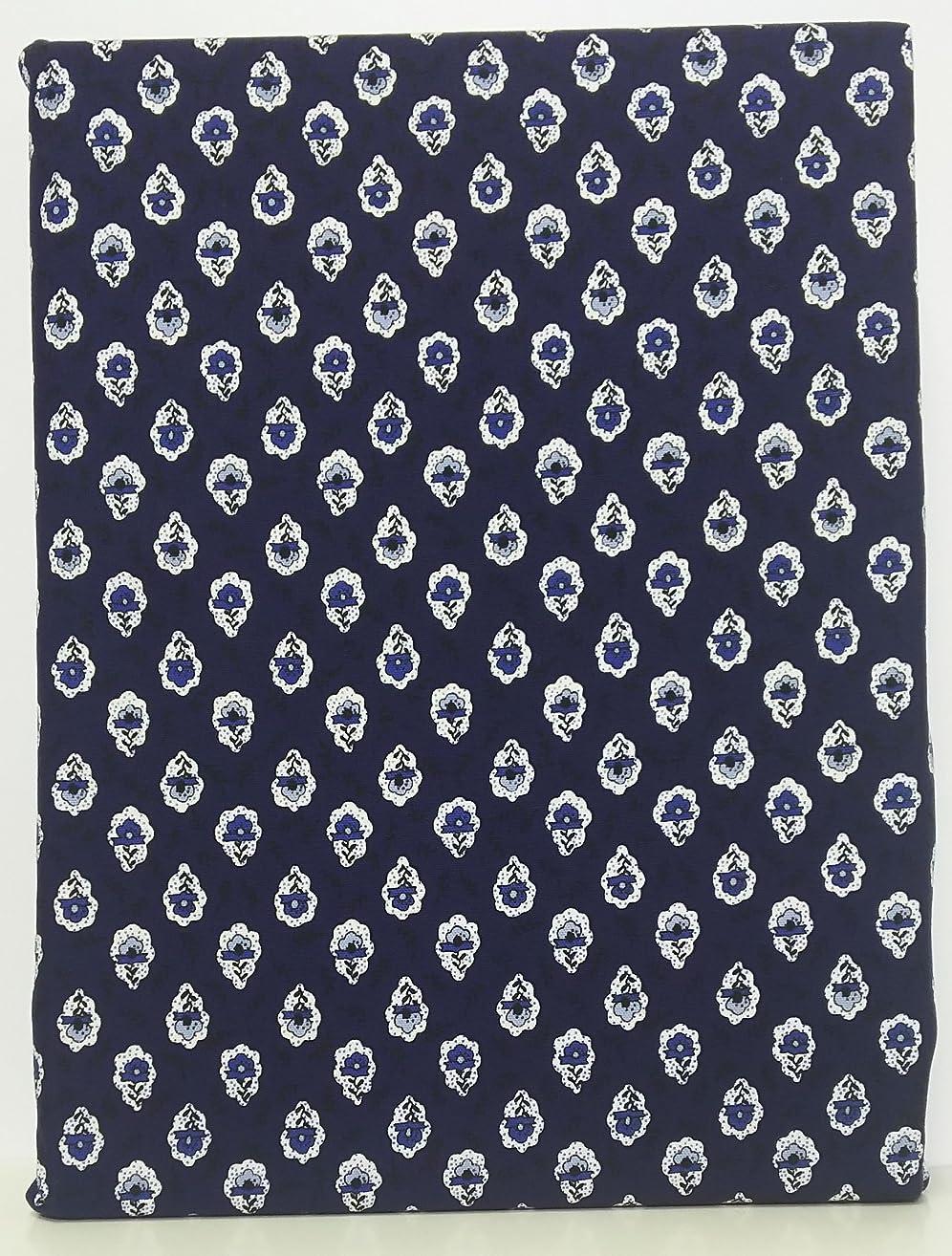 事実上前提条件雇用掛布団カバー ????? 150×210cm FABRIC'Sファブリックス 日本製 コットン100% 北欧 南仏 プロバンス紺