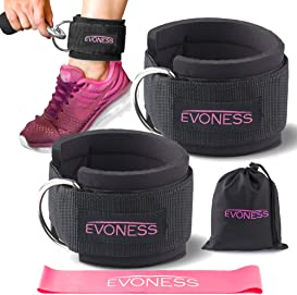 Explore workout ankle straps for cables