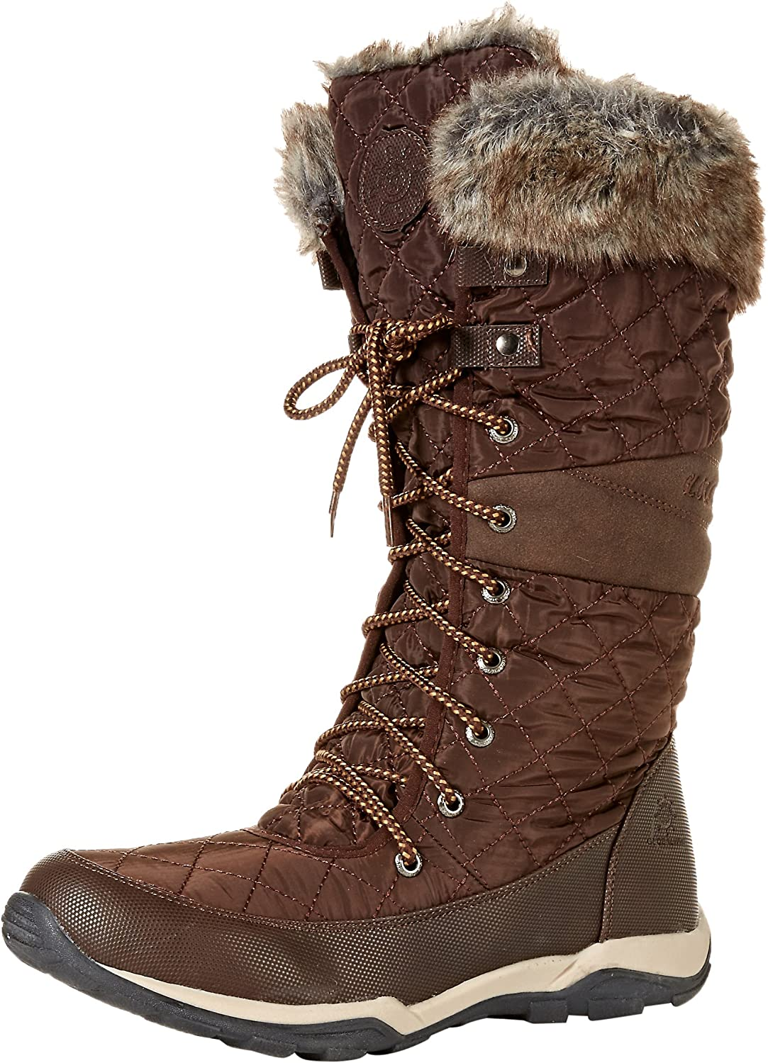1fc05a87281 GLOBALWIN Women's YY03 Brown Fashion Snow Boots 9.5M owjxc48331684 ...