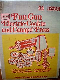 Best sears fun gun cookie press Reviews