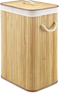 bamboo basket for clothes
