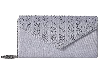 Adrianna Papell Ines (Silver) Clutch Handbags