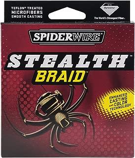Spiderwire Stealth Superline Spools (Hi-Vis Yellow, 1500 Yards/200-Pound)