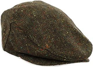 Biddy Murphy Tweed Cap Green Fleck John Hanly Made in Ireland