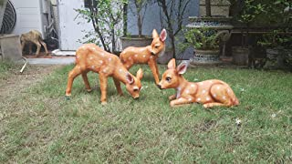 Wonderland Set of 3 Deer Garden Decoration (Garden Decor, Home Decor, Garden Animal) Christmas Gifting