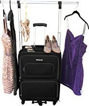 The Dance Angel Suitcase Black Size Medium (Rolling Dance Bag With Costume Rack)