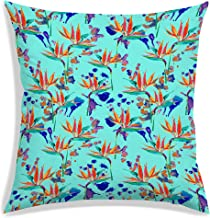 """RADANYA Leaf Pattern Throw Pillow Cases Home Sofa Decorative Cushion Covers 12""""x12"""" / 30x30cm-Insert not Included"""