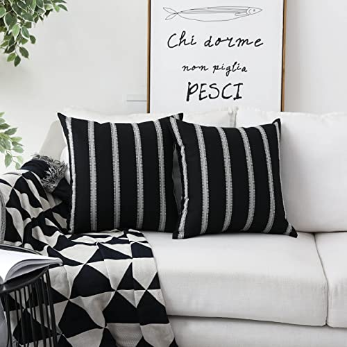 Excellent Black Accent Pillows Amazon Com Andrewgaddart Wooden Chair Designs For Living Room Andrewgaddartcom