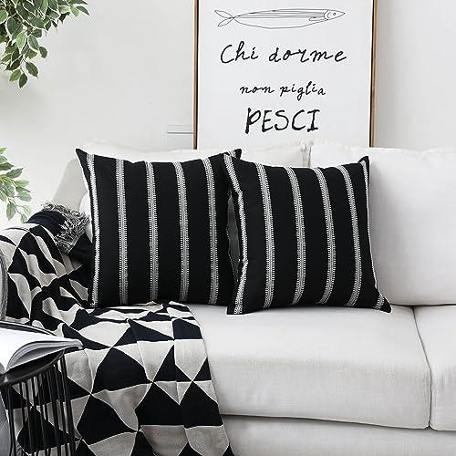 Black Accent Pillows: Amazon.com