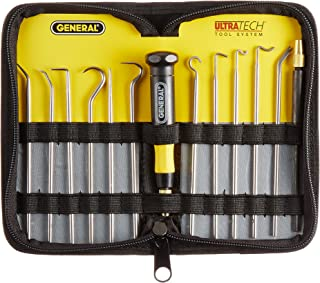 General Tools 707865 Probe, Positioning and Spring Hook Tool Set, 12-Piece