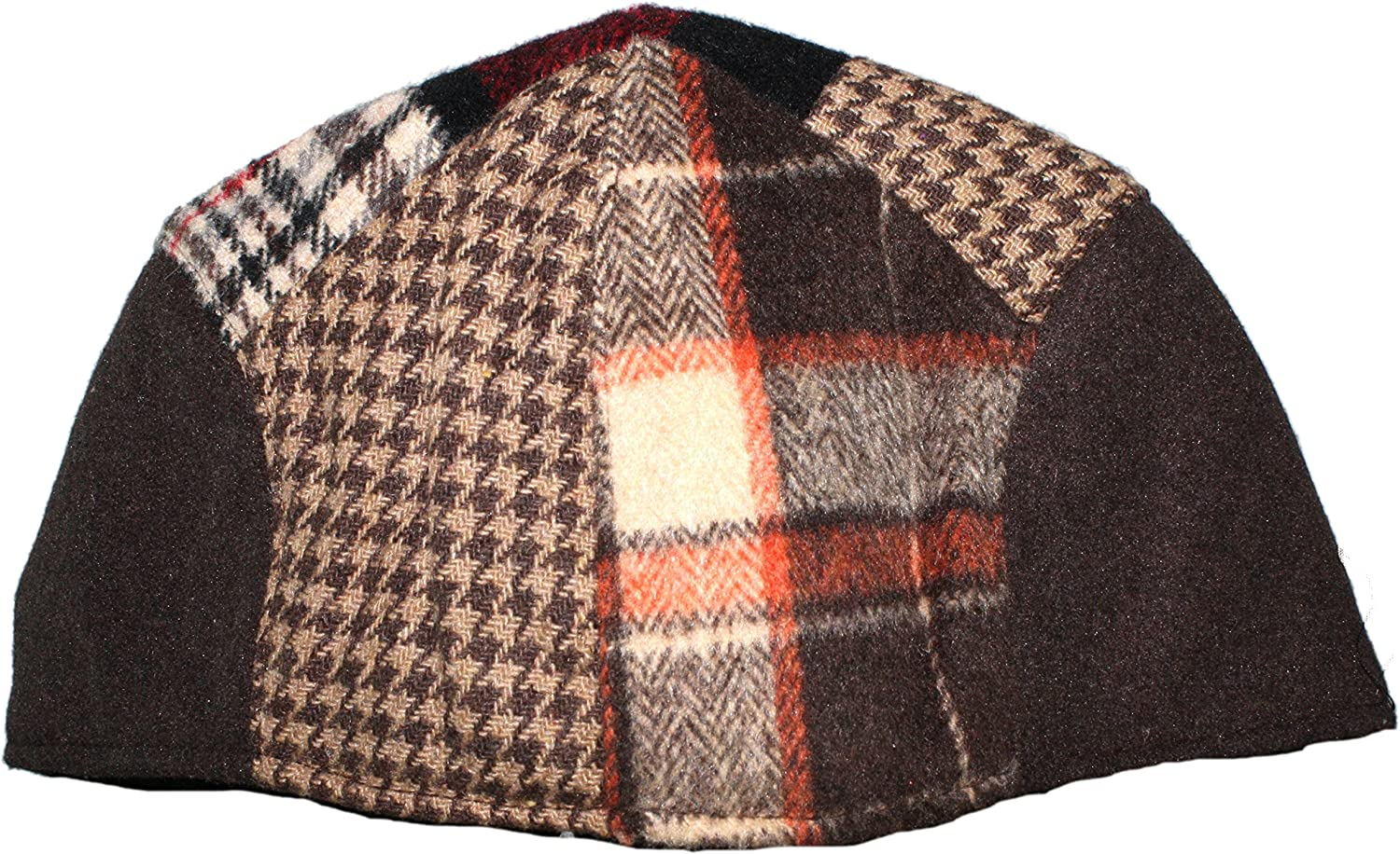 Tweed Patchwork Newsboy Driving Cap with Quilted Lining Ted /& Jack