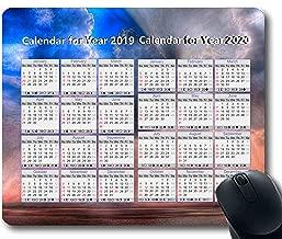 2019 Calendar Pads,Mouse pad,Sky high Gaming Mouse pad