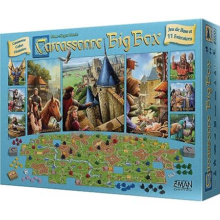 Gioco da tavola Carcassonne Big Box, versione 2017, edizione francese