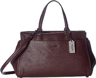 Women's Polished Pebble Leather Fulton Satchel