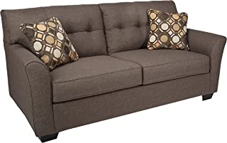 Ashley Furniture Signature Design - Tibbee Sofa - Contemporary Style Couch - Slate