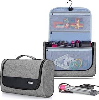Luxja Bolsa de Viaje para Dyson Airwrap Styler, Bolsa de Almacenamiento para Dyson Airwrap Hair Curler Accesorios, Gris