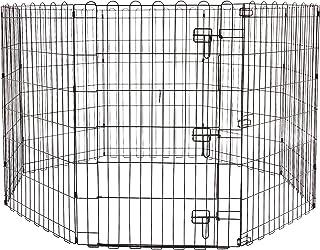 AmazonBasics Foldable Metal Pet Exercise and Playpen