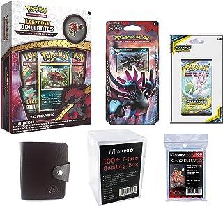 82481 Rose Accessoire de jeu de cartes /à jouer et /à collectionner Bo/îte de Rangement pour 75 Cartes Prot/ég/ées Asmodee