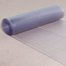 ES Robbins Vinyl Carpet Runner, 27-inchx20-feet, Clear