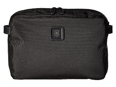 Victorinox Lexicon 2.0 Parcel Zip-Around Toiletry Kit (Black) Toiletries Case