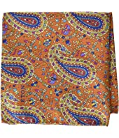 Eton - Paisley Print Pocket Square