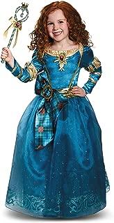 Disney Princess Merida Brave Prestige Girls' Costume