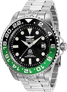 Invicta 21866 Reloj para Hombre, color Negro/Plata