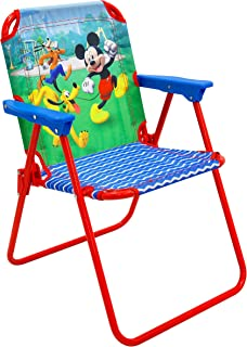 Mickey Patio Chair for Kids, Portable Folding Lawn Chair