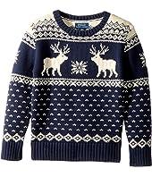 Polo Ralph Lauren Kids - Reindeer Cotton-Wool Sweater (Little Kids/Big Kids)