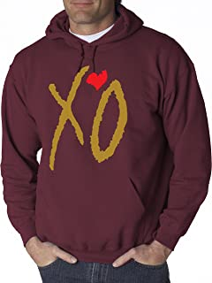 Best the weeknd hoodie maroon Reviews