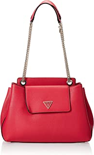 GUESS womens Sandrine Shoulder Satchel HANDBAGS
