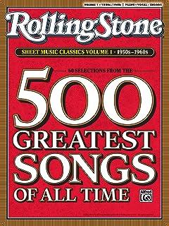Rolling Stone Sheet Music Classics, Vol 1: 1950s-1960s (Roll