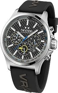 TW Steel Men's TW939 Analog Display Quartz Black Watch