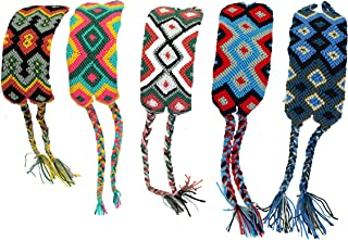 Friendship Bracelets for Men and Women - Wayuu Handmade - Woven, Colored, Intricate Cord Wristband - Thoughtful - Aura Meaningful Gifts for Teenage Best Friend