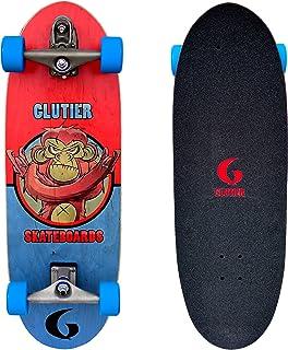 Glutier Surfskate with T12 Surf Skate Trucks. Moñe...