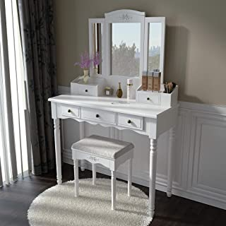 Best vintage vanity set Reviews