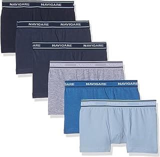 Pacco da 6 Bambino Taglia produttore:7 Multicolore Navy // Jeans // Jeans // Bluette // Azzurro // Grigio Navigare 13022 Boxer 9-10 Anni