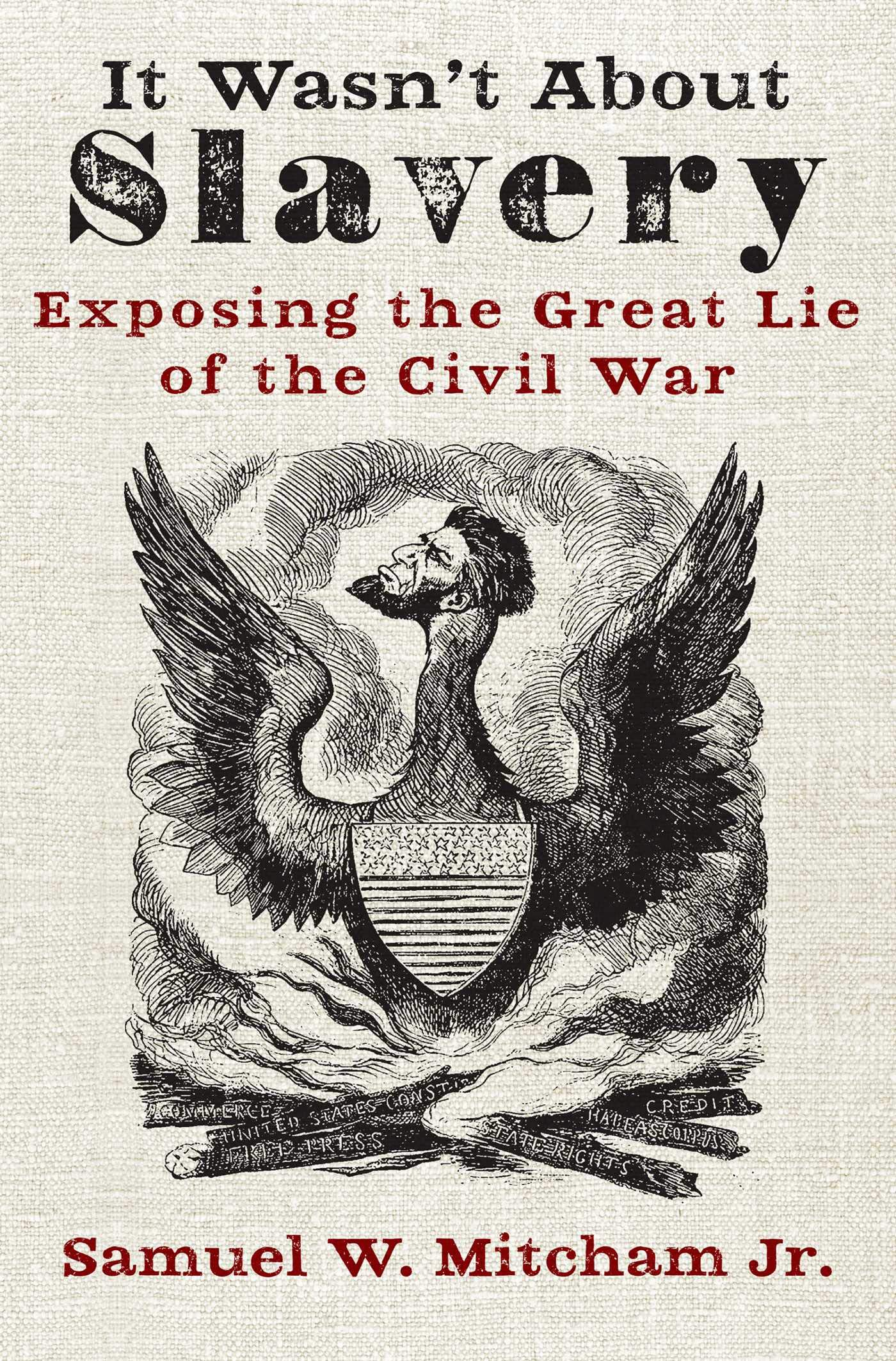 Image OfIt Wasn't About Slavery: Exposing The Great Lie Of The Civil War