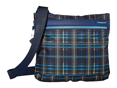Hedgren Faith RFID Crossbody with Safety Hook (Tartan Print) Cross Body Handbags