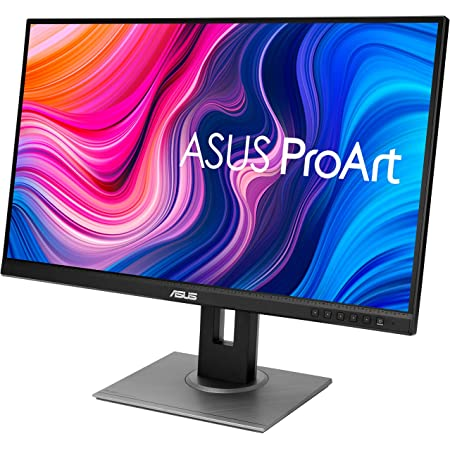 "ASUS ProArt Display PA278QV 27"" WQHD (2560 x 1440) Monitor, 100% sRGB/Rec. 709 ΔE < 2, IPS, DisplayPort HDMI DVI-D Mini DP, Calman Verified, Eye Care, Anti-Glare, Tilt Pivot Swivel Height Adjustable"