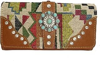 Montana West Western Tri-Fold Wristlet Wallet- Many Choices!