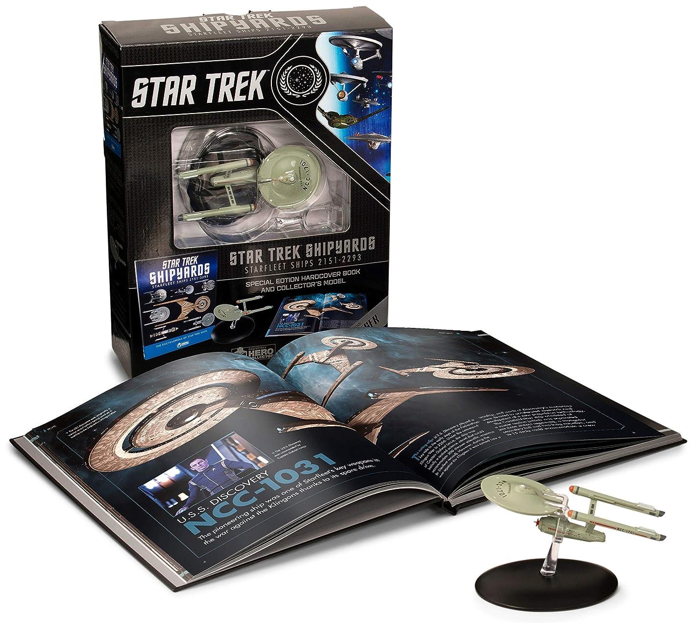 削除する錫表面Star Trek Shipyards Star Trek Starships: 2151-2293 The Encyclopedia of Starfleet Ships Plus Collectible