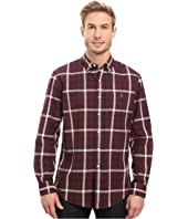 U.S. POLO ASSN. - Long Sleeve Oxford Cloth Plaid Button Down Sport Shirt